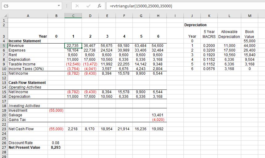 Random variable function in worksheet